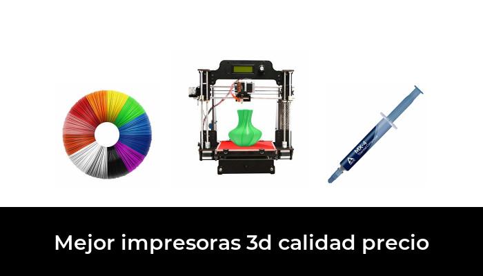 50 Mejor Impresoras 3d Calidad Precio En 2020 Según Los Expertos